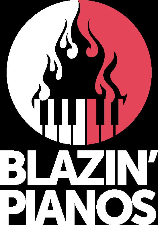 Blazin' Pianos logo
